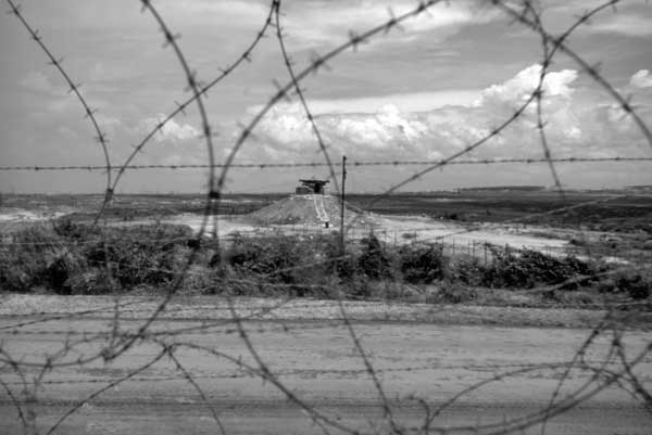 Bunker and Wire, Vietnam, 1968